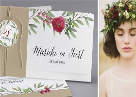 Creatieve trouwkaarten