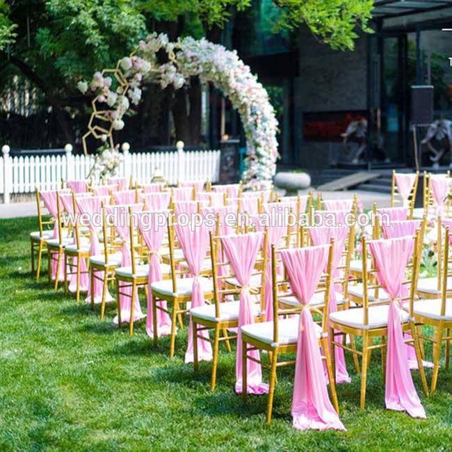 draperen stoelen ceremonie bruiloft