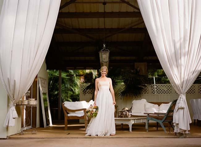 draperen oude schuur bruiloft