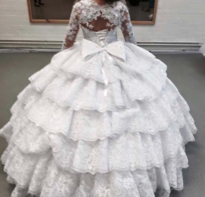 Simpele trouwjurk Gypsy