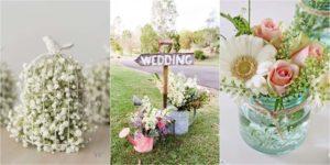 Een lente bruiloft