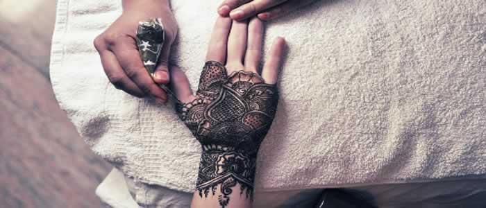Marokkaanse bruiloft Henna
