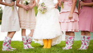 Regen op je bruiloft