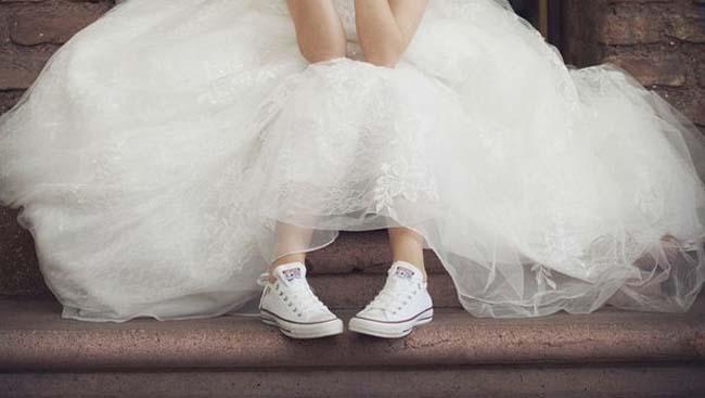 Voordelen sneakers bruid