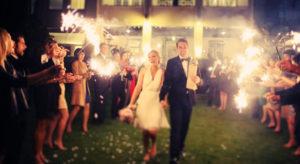 sterretjes feestavond bruiloft