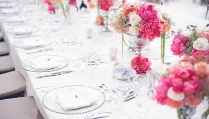 Tafeldecoratie Bruiloft Trouwen Bruiloft