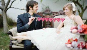 Vintage-bruiloft thema