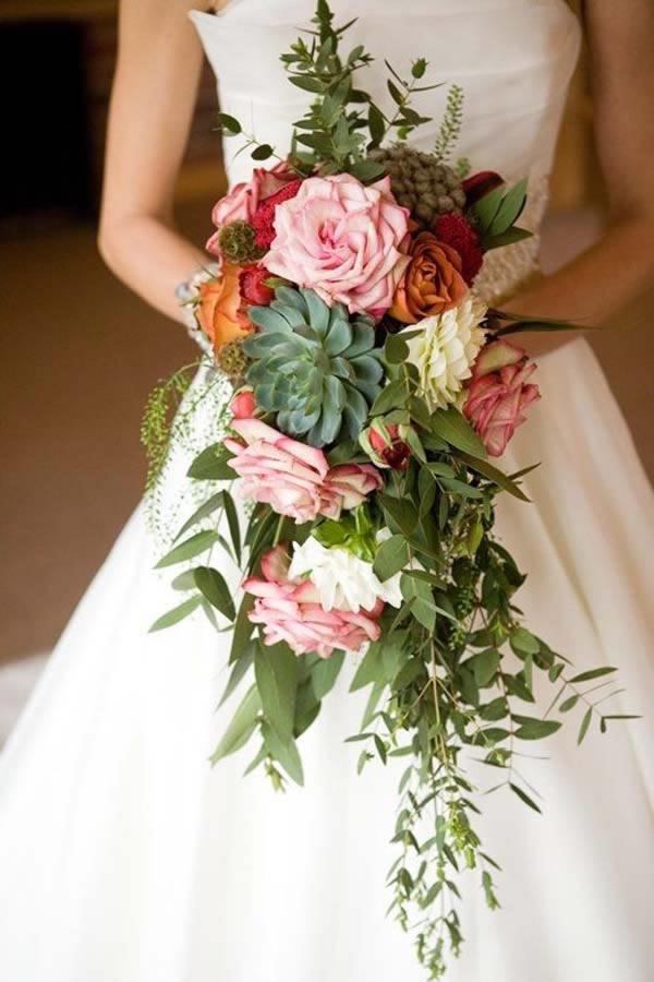 Waterval-bruidsboeket