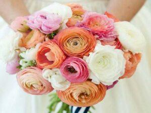 Bruidsboeket-Ranonkels