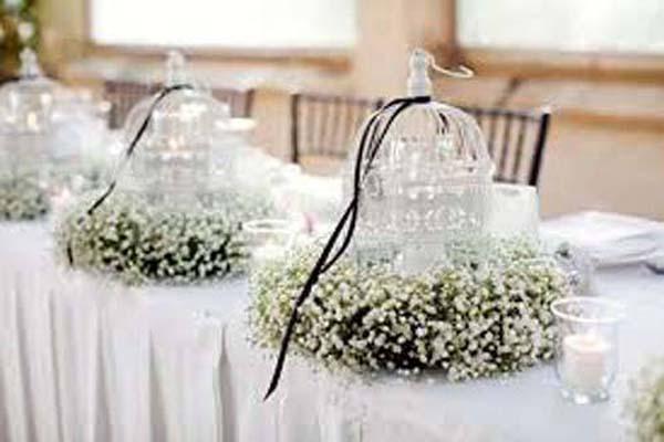 Witte Bruiloft Decoratie Trouwen Bruiloft